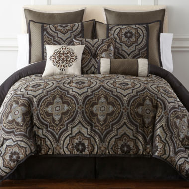 jcpenney.com | Home Expressions™ Vincenzo 7-pc. Comforter Set