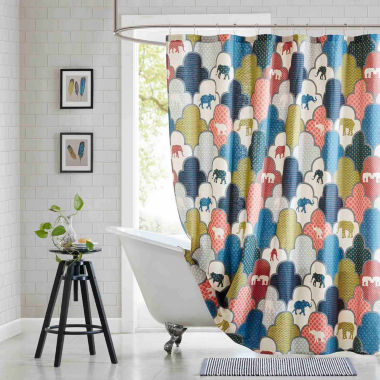 jcpenney.com | Padma Cotton Shower Curtain