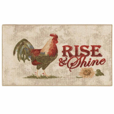 jcpenney.com | Rooster - Rise and Shine Rectangular Rug