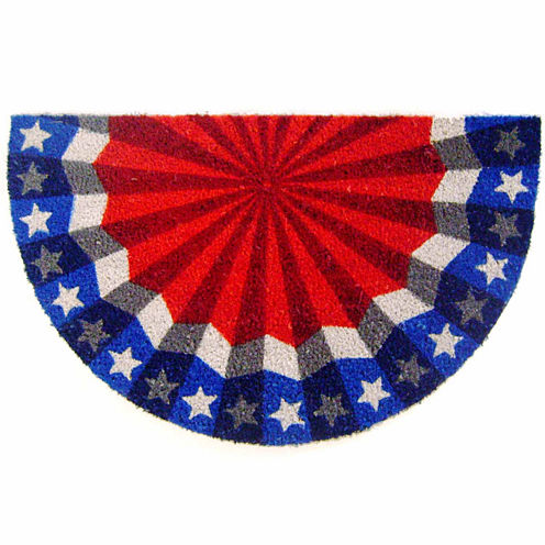 "Americana Rectangular Doormat - 18""X30"""