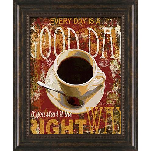 Good Day Framed Art