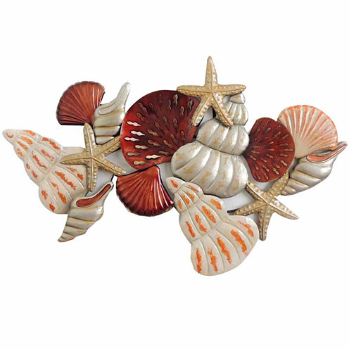 Shells And Starfish Wall Decor