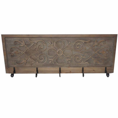 jcpenney.com | 5 Hook Filigree Panel Wall Decor