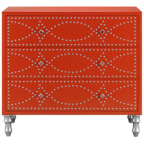 Madison Park Lyon Nailhead Accent Chest