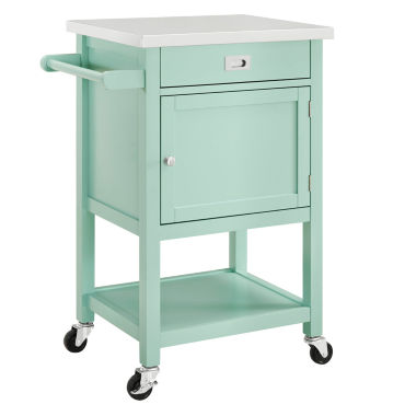 jcpenney.com | Linon Stainless Steel-Top Kitchen Cart