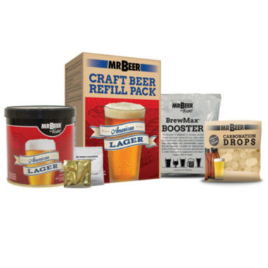 jcpenney.com | Mr. Beer American Lager Craft Beer Making Refill Kit