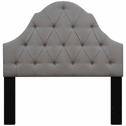 Home Meridian Upholstered Ash Headboard