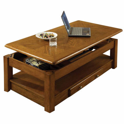 2-drawer lift-top coffee table - jcpenney