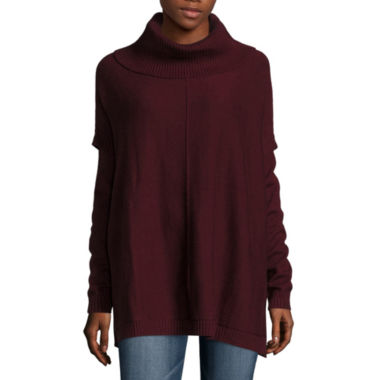 jcpenney.com | a.n.a Long Sleeve Poncho