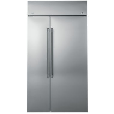 "jcpenney.com | GE Cafe Series 25.2 cu. ft. 42"" Built-In Side-by-Side Refrigerator"""