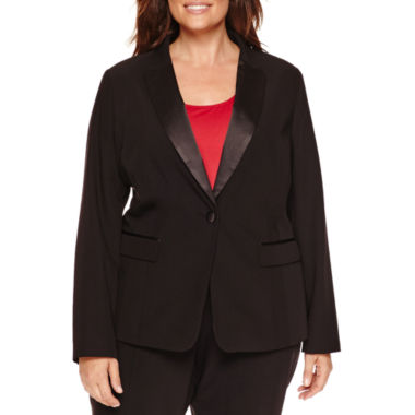 jcpenney.com | Worthington® Peaked Lapel Tuxedo Jacket - Plus