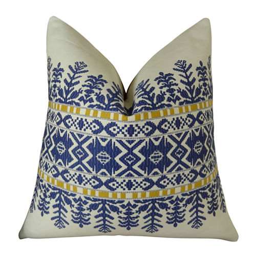 Plutus Aztec City Handmade Throw Pillow