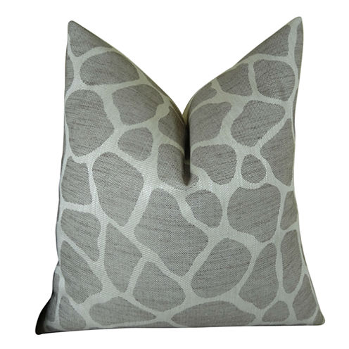 Plutus Rocky Way Handmade Throw Pillow
