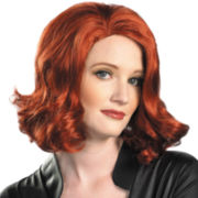The Avengers Black Widow Wig - Adult