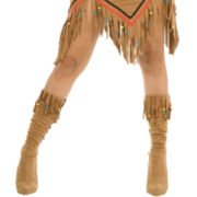 Women's Indian Maiden Boot Covers