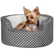 Round Comfy Sleeper Pet Bed