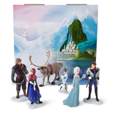 jcpenney.com | Disney Collection Frozen 6-pc. Figure Set