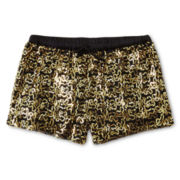 Flowers by Zoe by Kourageous Kids Sequin Shorts - Girls 6-16