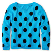 Sally M™ Sally Miller Dotty Sweater - Girls 6-16