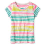 Arizona Favorite Striped Tee - Girls Plus
