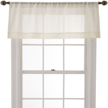 jcpenney.com | MarthaWindow™ Promenade Rod-Pocket Tailored Valance