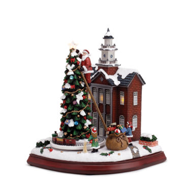 jcpenney.com | Roman Musical LED Town Hall Figurine