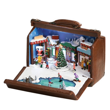 jcpenney.com | Roman Musical Skaters in Suitcase Figurine