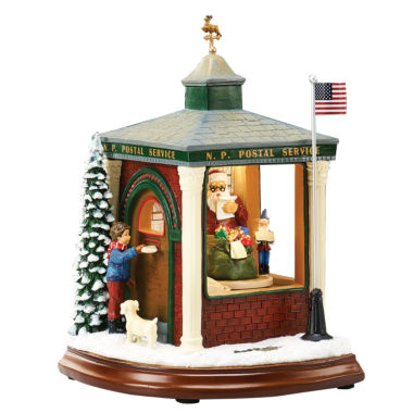 jcpenney.com | Roman Musical LED Post Office Figurine