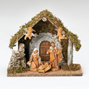 Fontanini 5 Piece Italian Wedding Creche Christmas Nativity Set