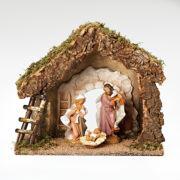 """Fontanini 7.5"""" Nativity 3 Piece Set"""