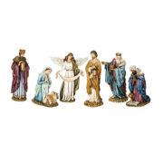 "Joseph's Studio 8"" Nativity with Angel 6 Piece Set"