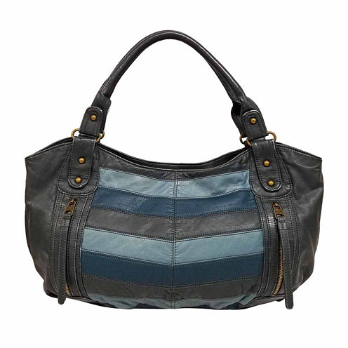 St. John's Bay Chevron Double Shoulder Bag