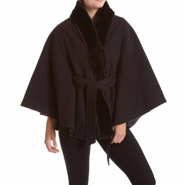 jcpenney.com | Excelled® Faux-Wool Belted Cape