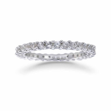 jcpenney.com | Womens White Sapphire Sterling Silver Eternity Band