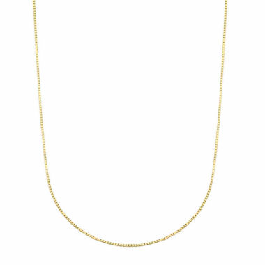 jcpenney.com | LIMITED QUANTITIES! 14K Yellow Gold Polished Box 0.54mm Chain Necklace