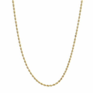 jcpenney.com | 14K Gold Rope Chain Necklace