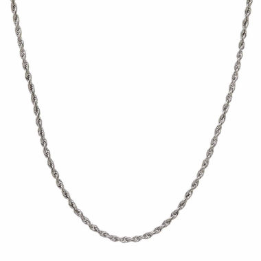 jcpenney.com | 14K White Gold Rope Chain Necklace