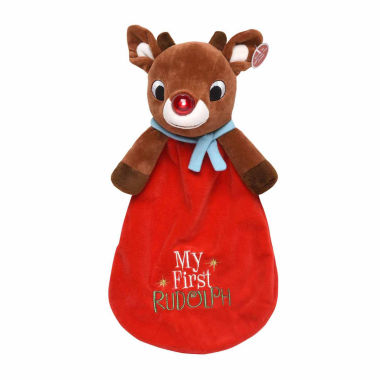jcpenney.com | Rudolph Red-Nosed Reindeer Snuggle Buddy Plush Toy