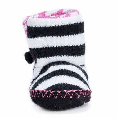 jcpenney.com | Muk Luks Baby Booties-Baby 0-24 Mos