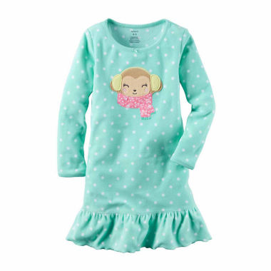jcpenney.com | Carter's Girl Mint Dot Gown 2-5