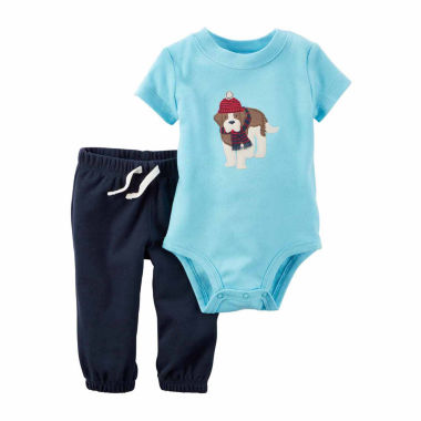 jcpenney.com | Carter's Boys 2-pc. Bodysuit Set-Baby