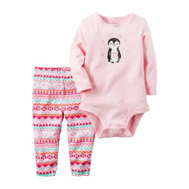 jcpenney.com | Carter's Girls 2-pc. Bodysuit Set-Baby