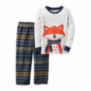 Carter's Boy Grey Fox 2pc Fleece 12-24M
