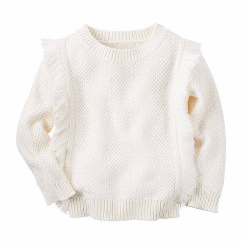 Carter's Girl Ivory Sweater 4-8