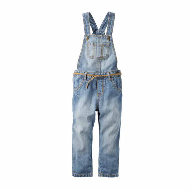 jcpenney.com | Carter's Girl Denim Woven Overall 4-8