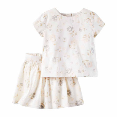 jcpenney.com | Carter's Girls Short Sleeve Skirt Set