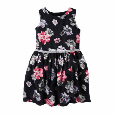 jcpenney.com | Carter's Short Sleeve A-Line Dress - Toddler Girls