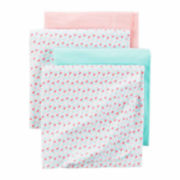 Carter's Girl Pink Blossom Blanket