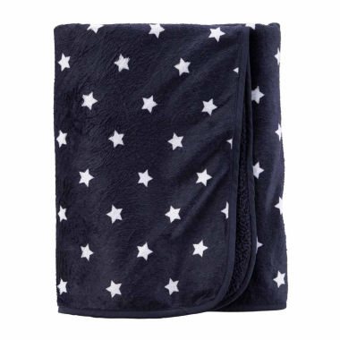 jcpenney.com | Carter's Boy Navy Plush Blanket