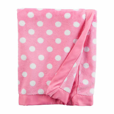 jcpenney.com | Carter's Girl Pink Dot Blanket